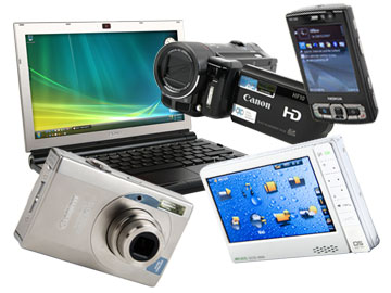 Picture of gadgets
